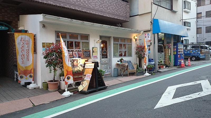 Cafe HOOT HOOT 外観