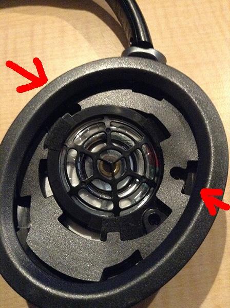MDR-10RBTのイヤーパッド交換 力のかけ方